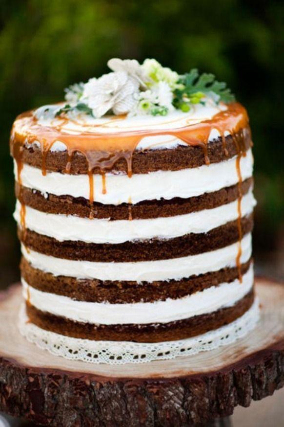 Pasteles de chocolate para el día de tu boda | Fondant wedding cakes ...