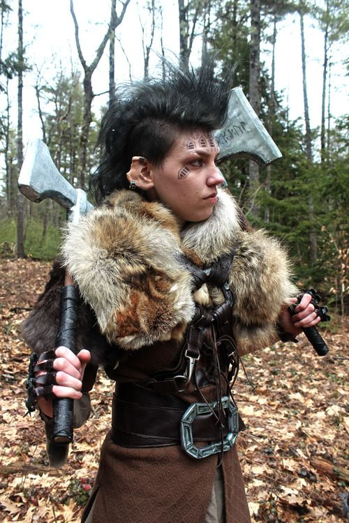 Lady Dwalin i'm not gonna lie, this is Badass | Larp and