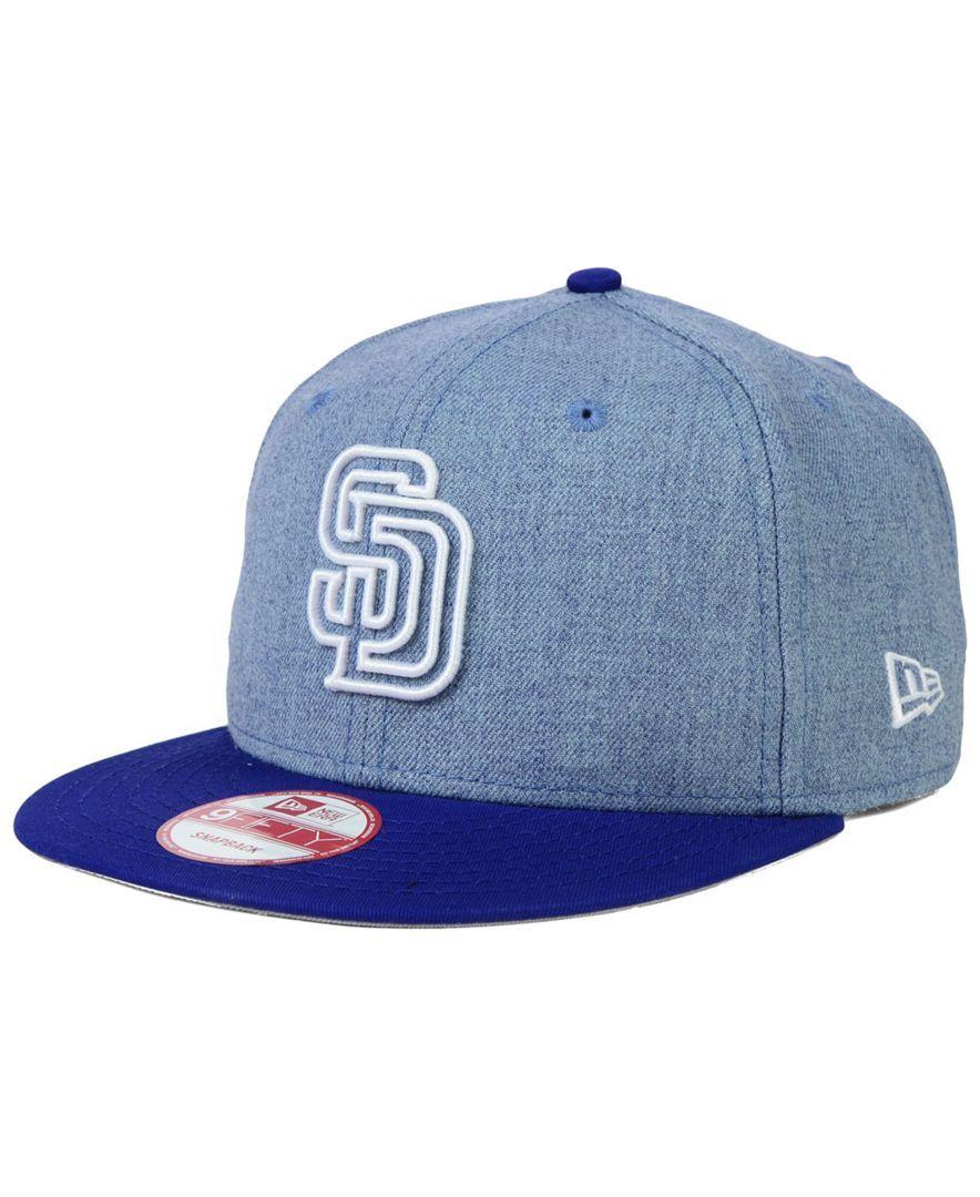 New Era San Diego Padres 9FIFTY Snapback Cap  f11d35e95df3
