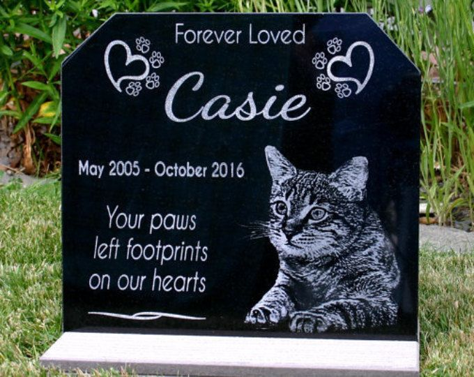 Pet Loss Customized Pet Memorial Stone Personalized Gift