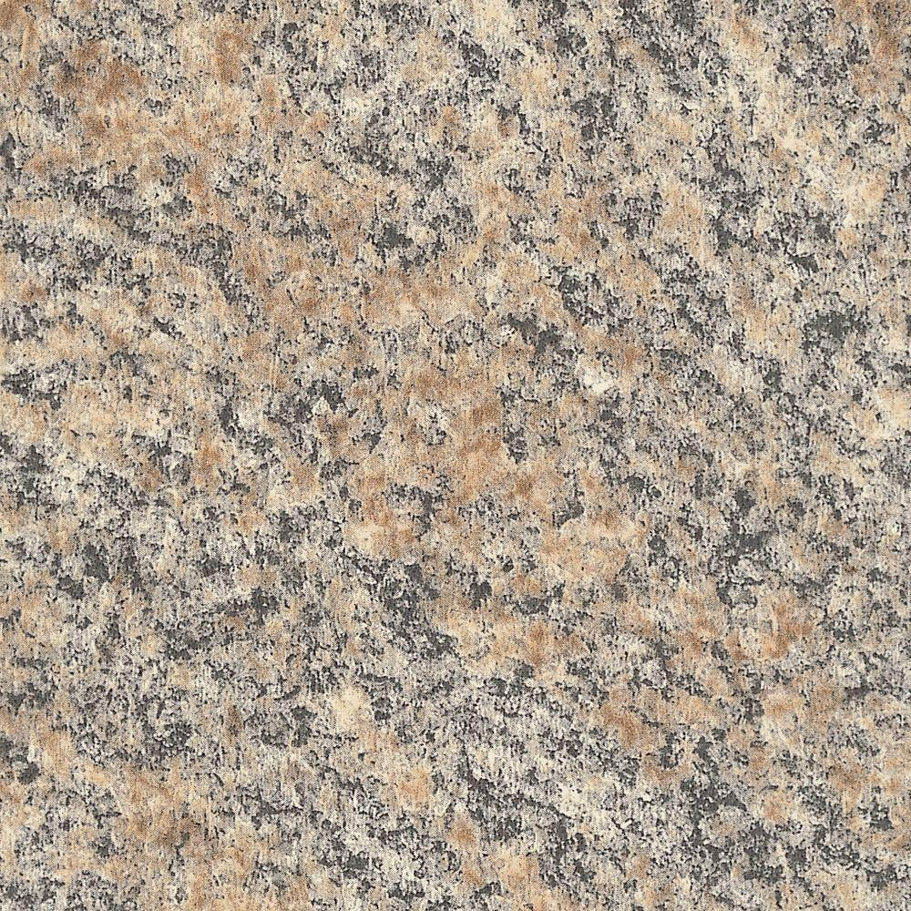 Formica 5 In X 7 In Laminate Countertop Sample In Brazilian Brown Granite With Premiumfx Radiance Finish 6222 Rd Brown Granite Laminate Countertops Laminate Kitchen