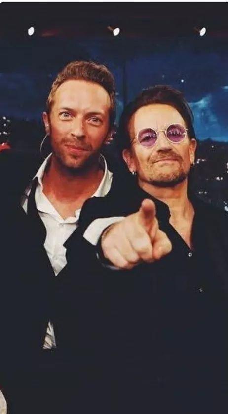 Chris Martin Bono Inspirador Aulas De Ingles