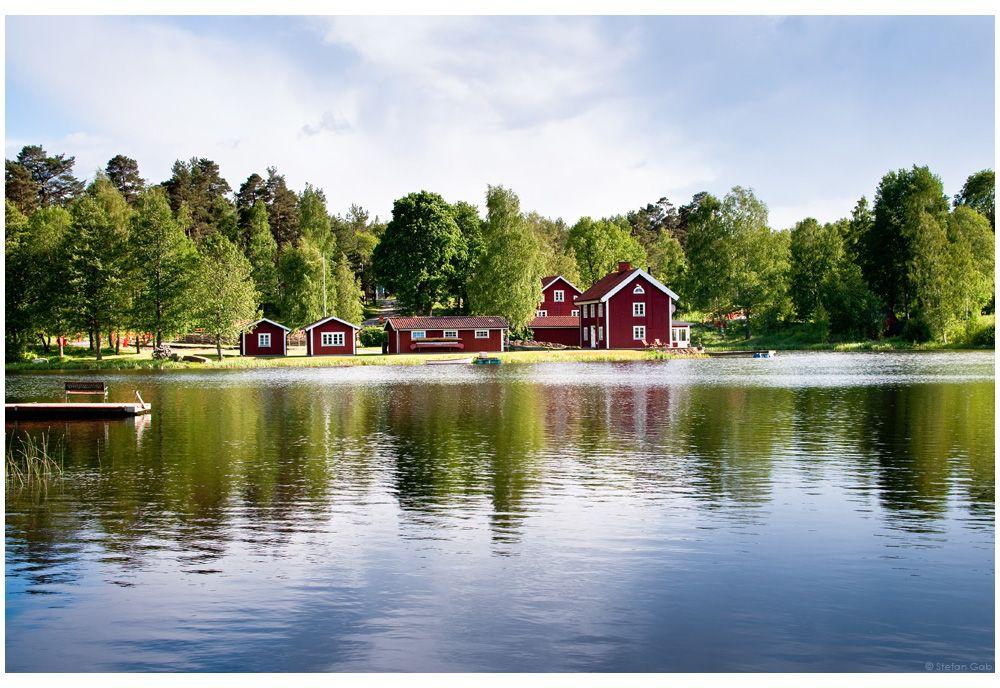 Schweden Schwedisches haus, Schweden urlaub, Schweden