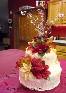 15th Anniversary Cake Wedding