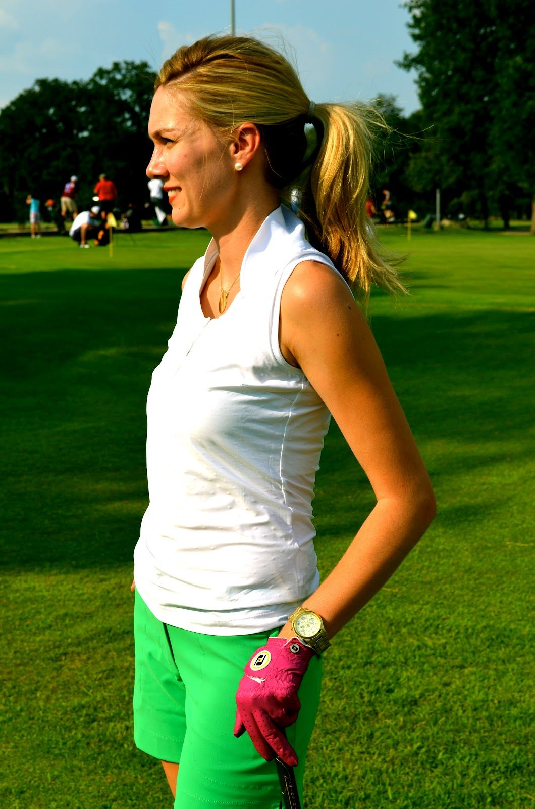 c style blog golf anyone women's golf attire  looks