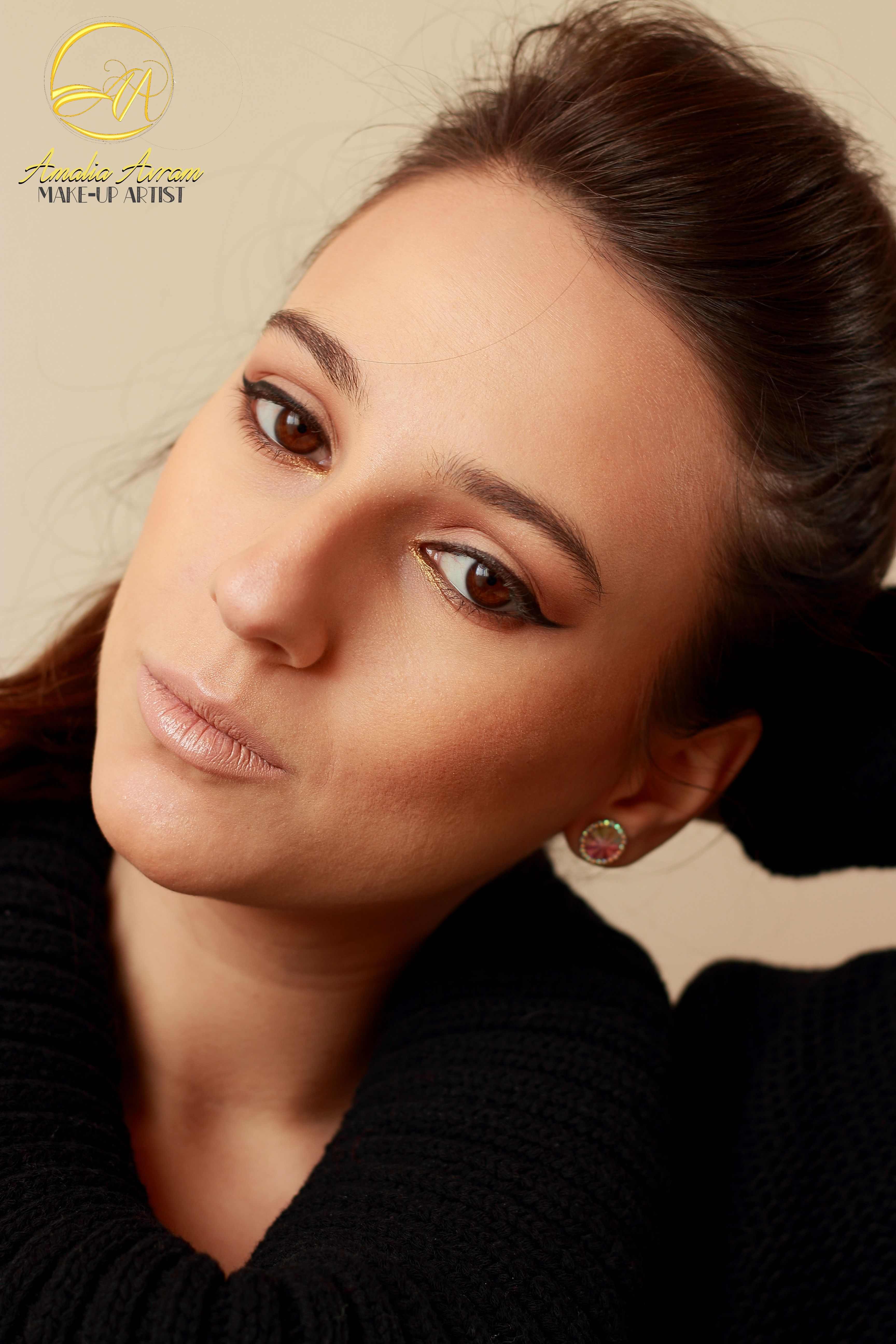 Glam Girl, eyeliner, natural makeup, makeup tutorial