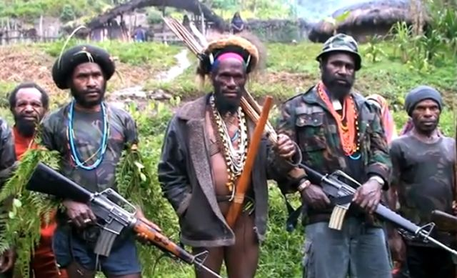 West Papuan Rebels Struggle For Freedom Papua West Papua People Of The World