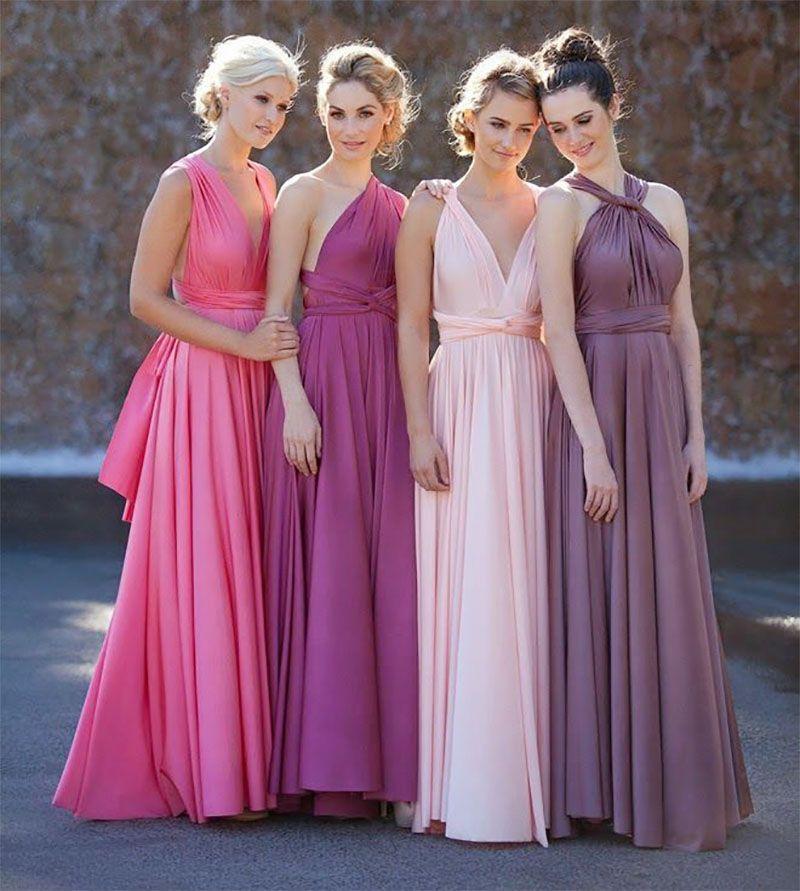 Vestidos para usar em casamentos na praia | Vestiditos, Damitas de ...