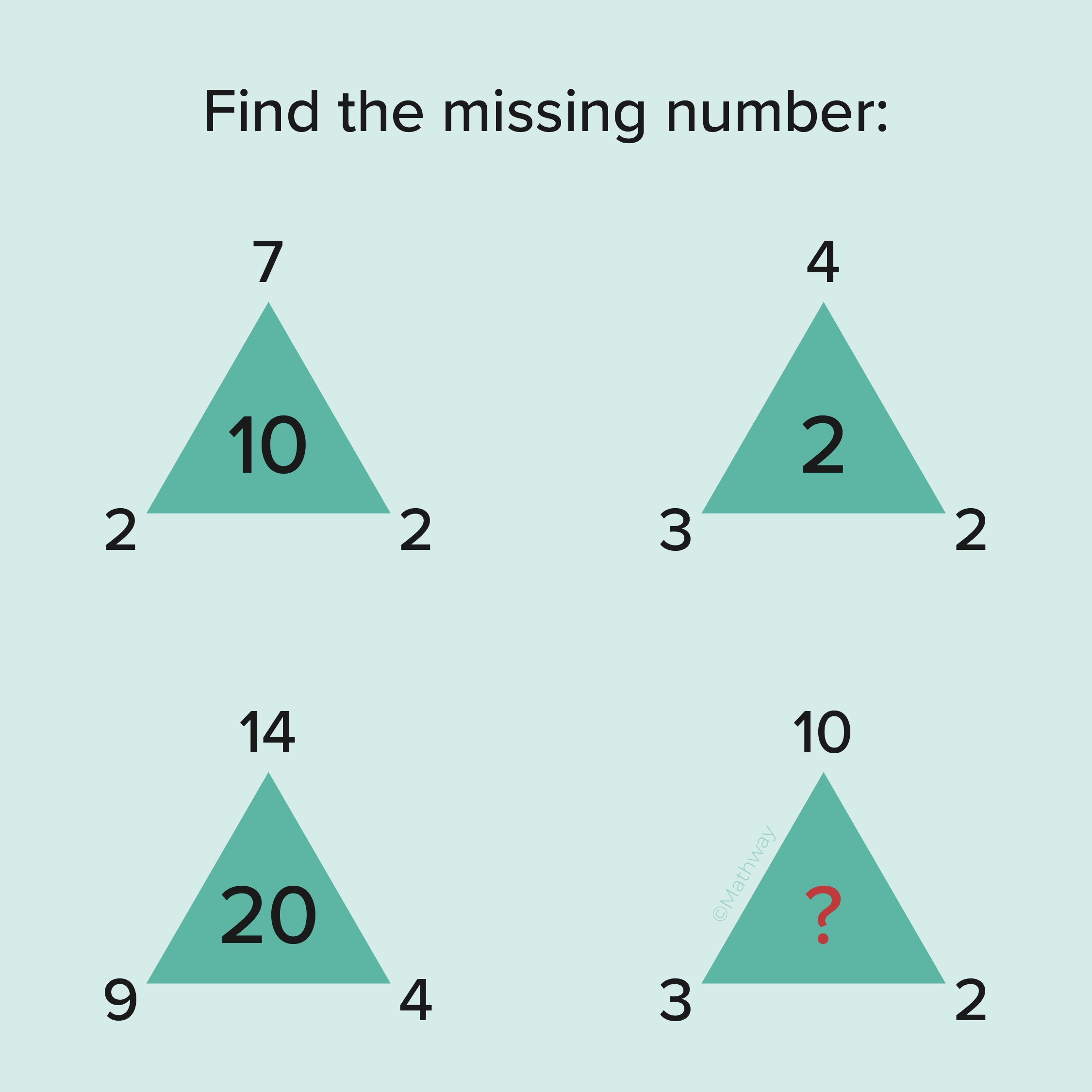 Can You Figure Out What Number Replaces The Challenge Your