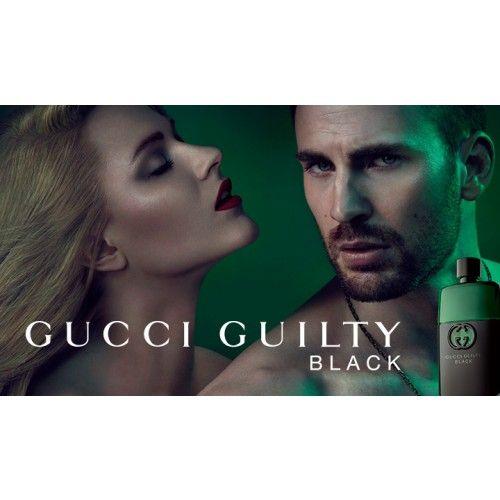 Gucci Guilty Black Pour homme 90ml Eau de Toilette Spray - Gucci parfum Heren - ParfumCenter.nl