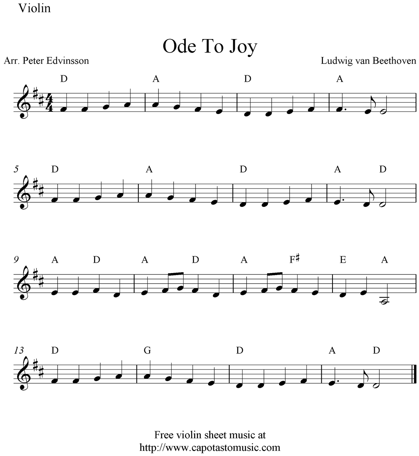 Available Free Sheet Music