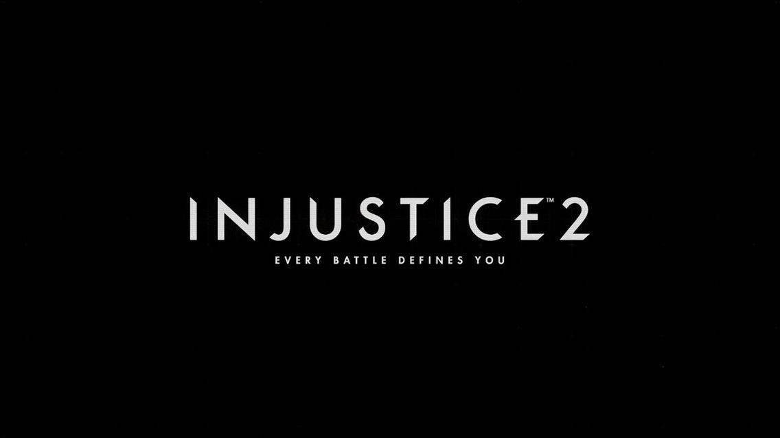 Injustice 2 Logo Injustice 2 Injustice 2 Batman Injustice