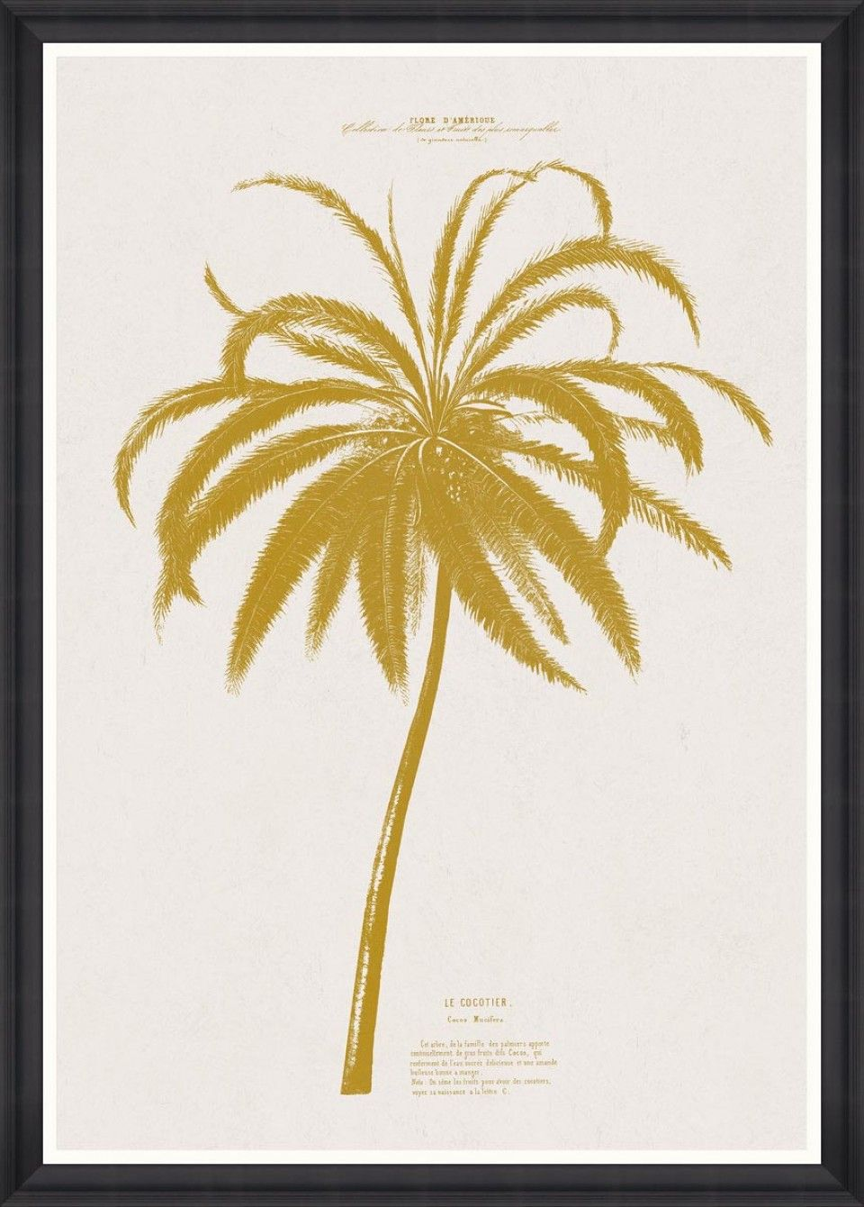 Add a tropical vibe to your walls with this quirky La Bananier ...