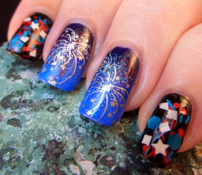 Fireworks nail art graham reid fireworks nail art image collections nail art and nail design ideas fireworks nail art image collections prinsesfo Gallery