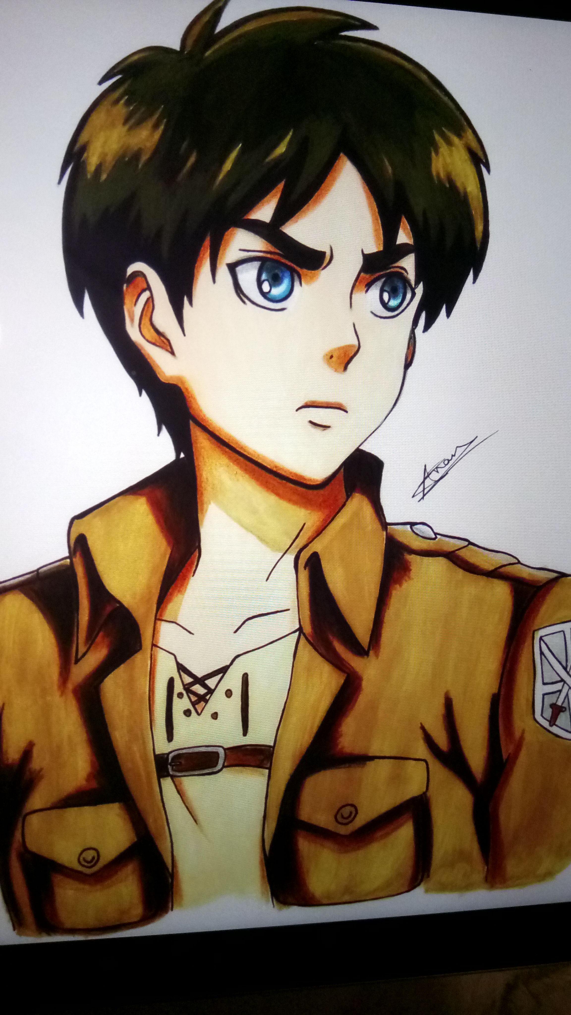 Eren Dibujo Imagenes De Anime Hd Anime De Perfil Shingeky