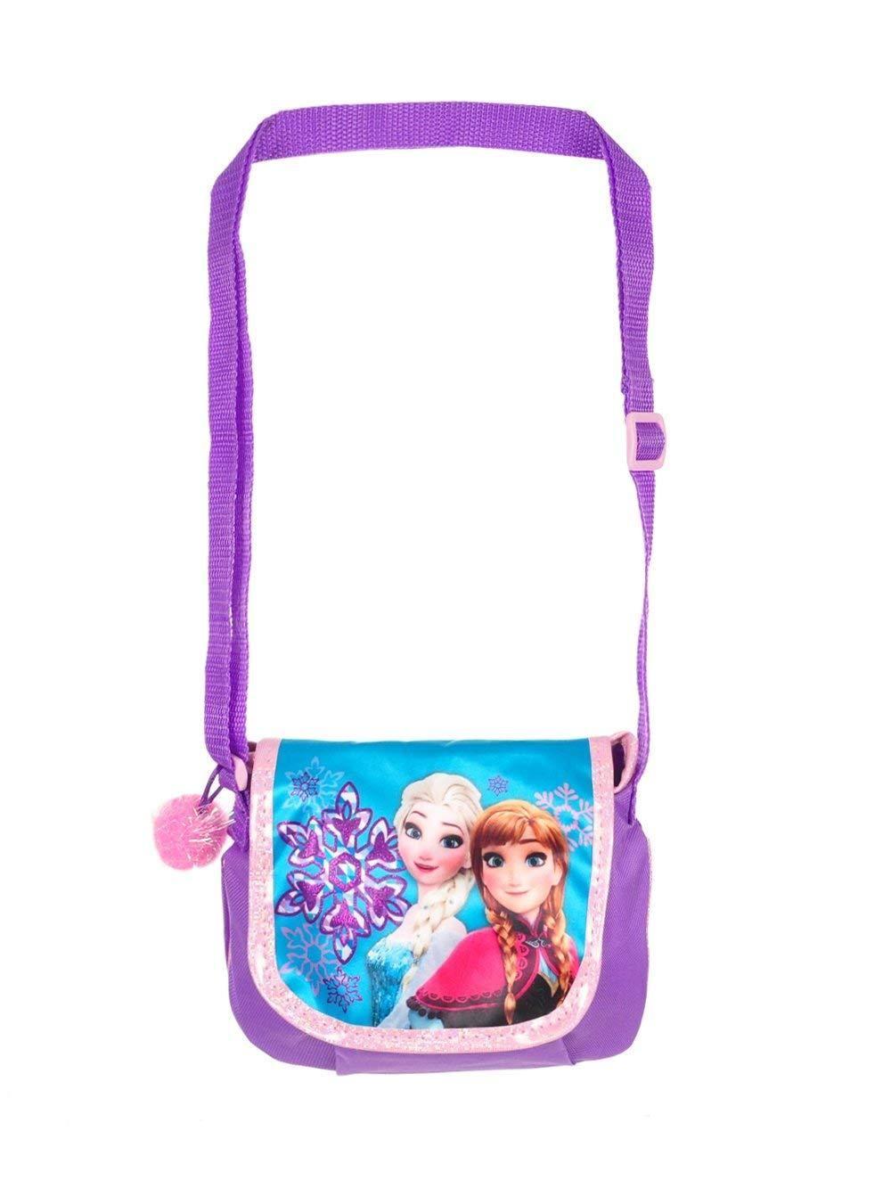 3387f5080d3 Disney Frozen Crossbody Plush Messenger Bag Book Backpack