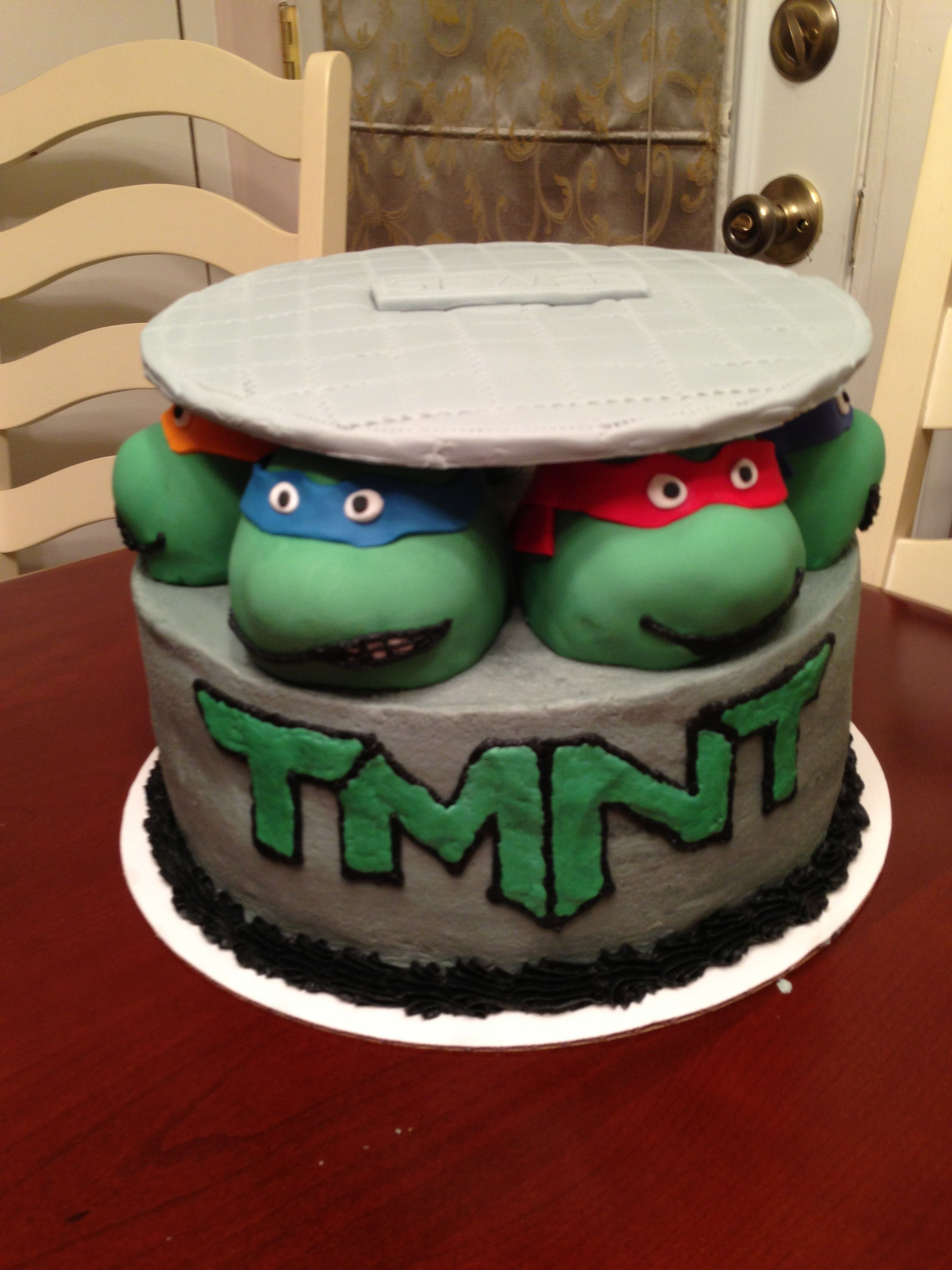 Teenage Mutant Ninja Turtles Cake Tmnt Teenage Mutant Ninja Turtle Cake Ninja Turtle Cake Tmnt Party