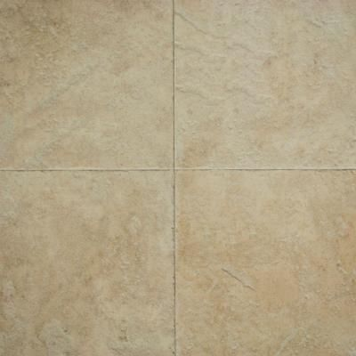 Hampton Bay Ivory Porcelain Mm Thick X In Wide X - Porcelain click and lock floor tile