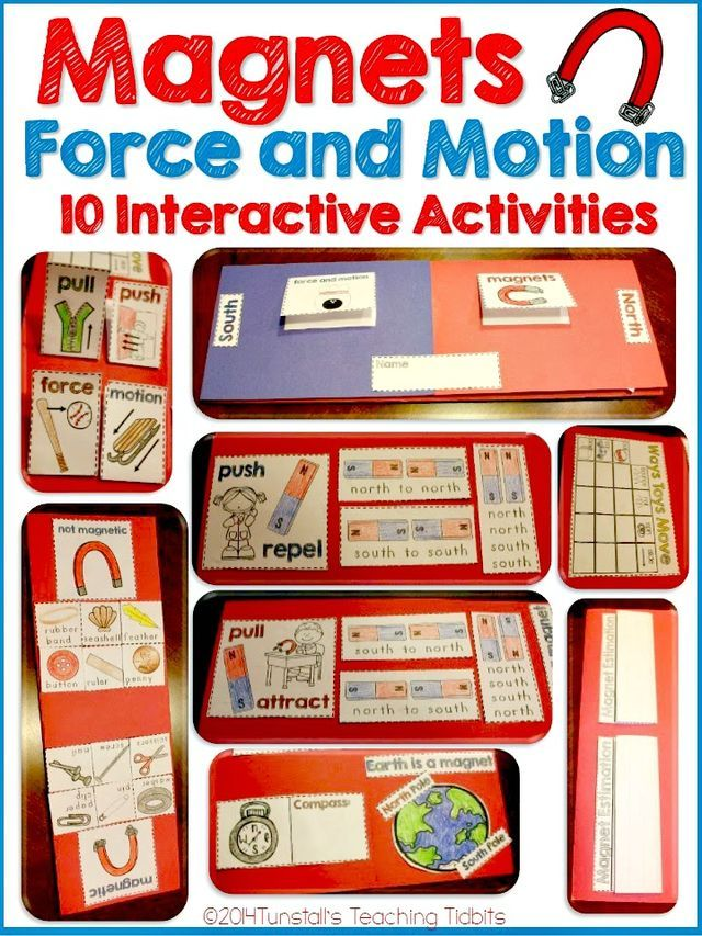 Magnets Force And Motion Preschool Science Lessons