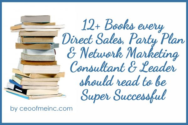 12+ Books every Direct Sales, Party Plan and Network Marketing - fresh blueprint consulting and training
