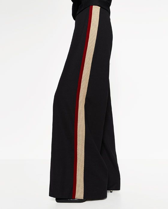 3273f076e6 Image 2 of SPORTS STRIPE TROUSERS from Zara