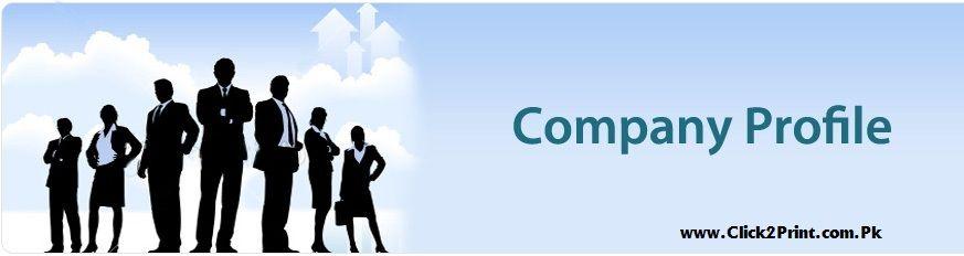Company Profile Design  Print Services Brochure designing and