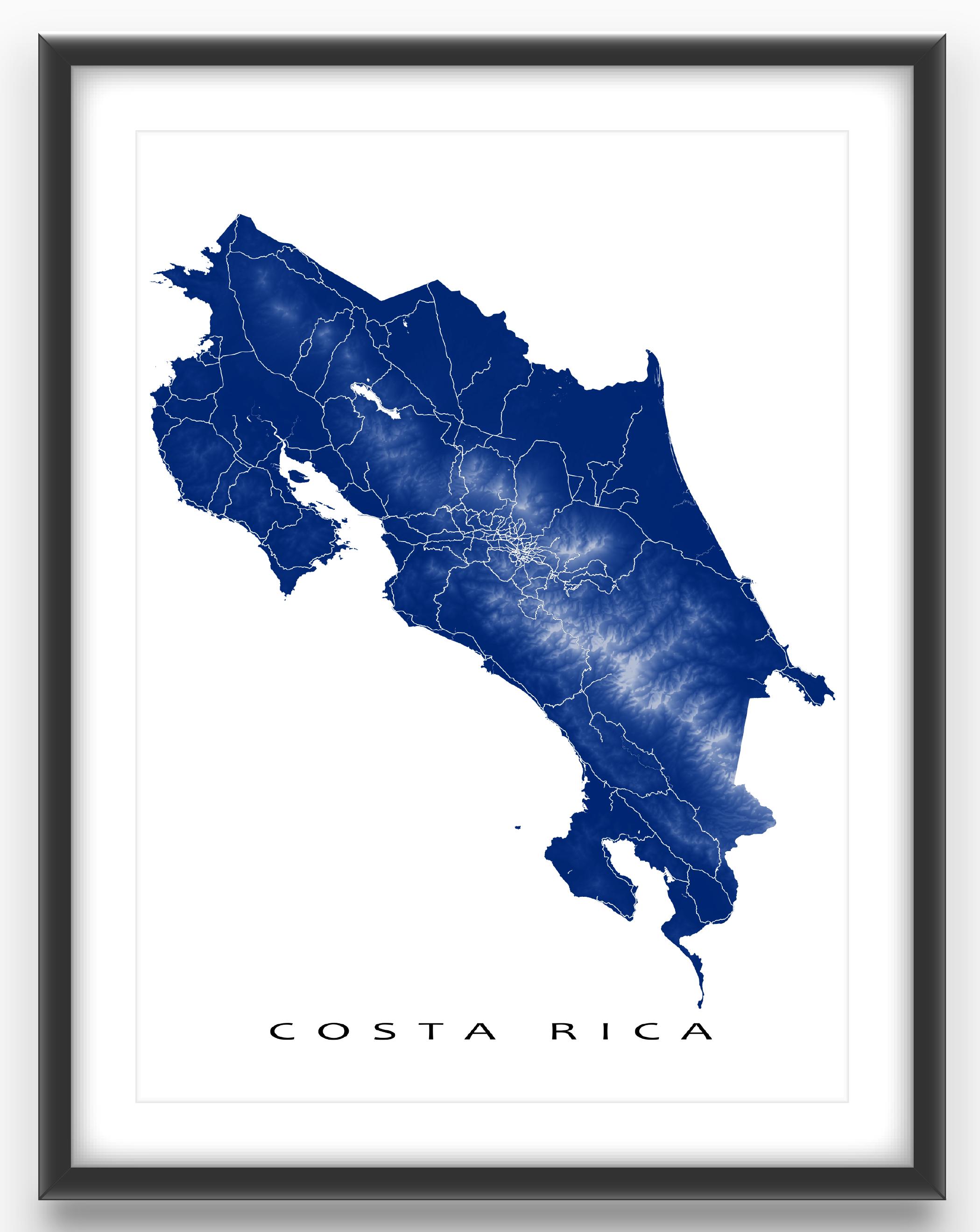 Costa Rica Map Outline Logo Brandprofiles Com Costa Rica Map Map Outline Travel Journal Scrapbook