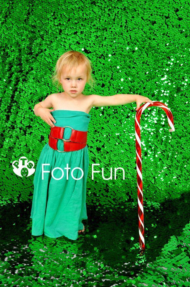 Chic Christmas little girl