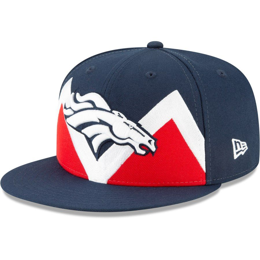 finest selection 205ce 9bcbd Denver Broncos New Era 2019 NFL Draft Spotlight 9FIFTY Snapback Adjustable  Hat – Navy, Your