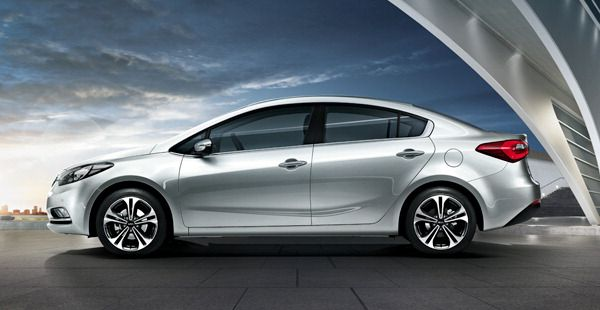 A Coupe Like Silhouette Now Longer Wider And Lower With Extended Wheelbase Sedan Kia Forte Kia
