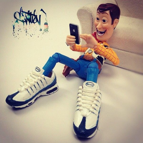 free shipping 246fd 377a6 Toy Story - Nike Air Max 95 | clothes in 2019 | Toy story ...