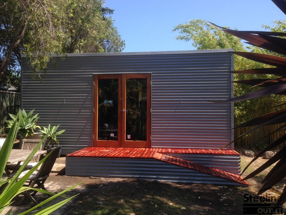 Details about Custom Granny Flat / Kit Shed with Skillion