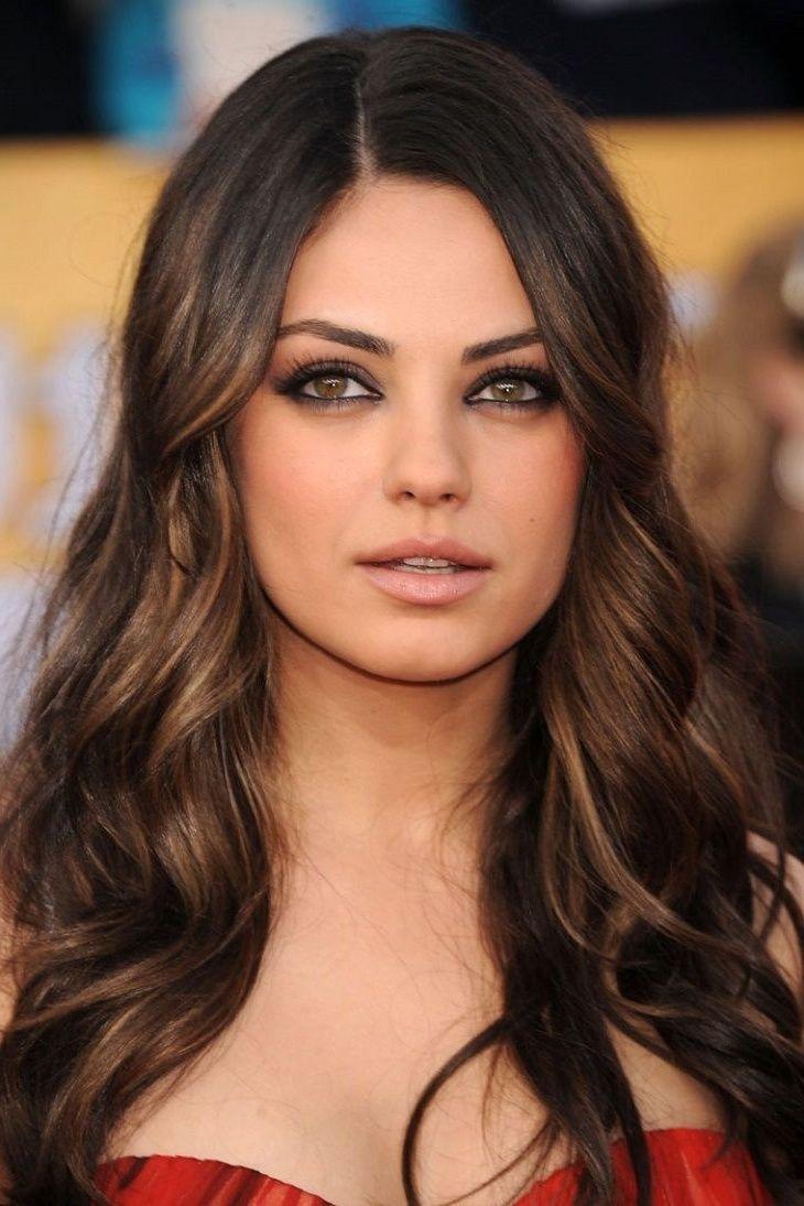 Dark Brown Hair Colors For Fair Skin Best Hair Color For Brown Green Eyes Check More At Http Frenzyhairstudi Hair Styles Dark Brunette Hair Hair Color Dark