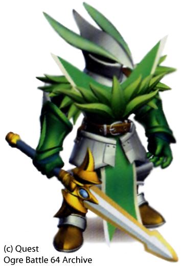 Knight of Danika Ogre Battle 64 | Character Concepts | Ogre battle
