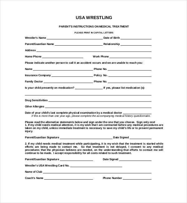 28 Sports Waiver Form Template In 2020 How To Plan Document