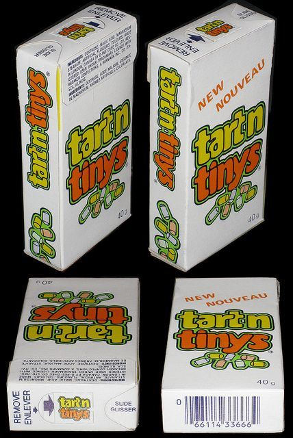 Tart n Tinys! I loved these! I wish they still made these :(