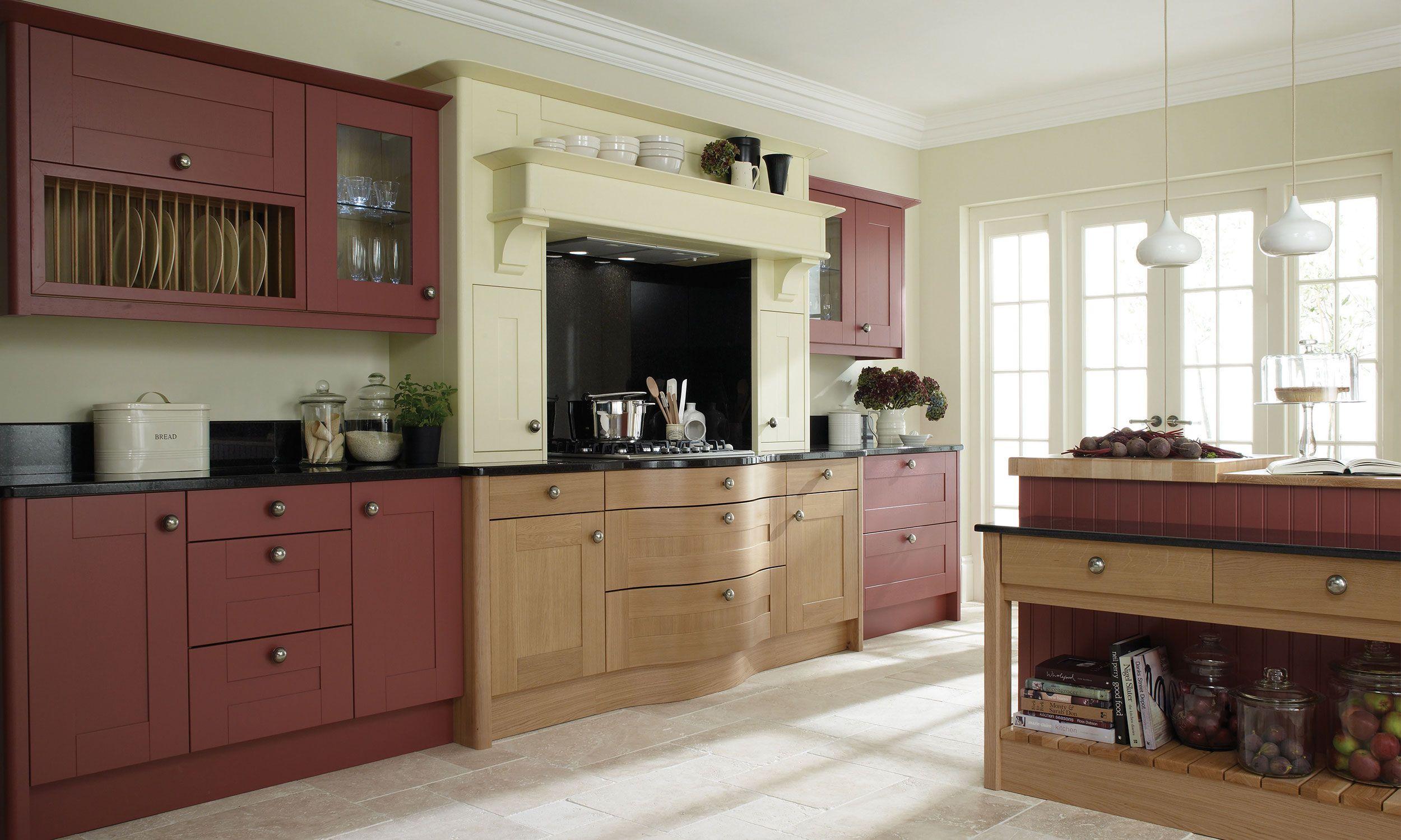 Broadoak Kitchen Modern wood kitchen, Shaker kitchen