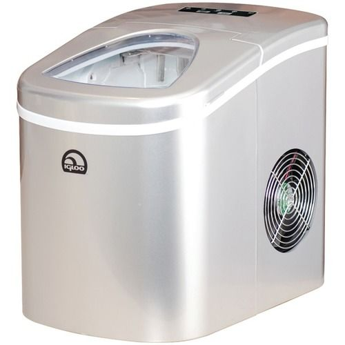 Igloo Ice108 Silver Compact Ice Maker Silver Products Ice