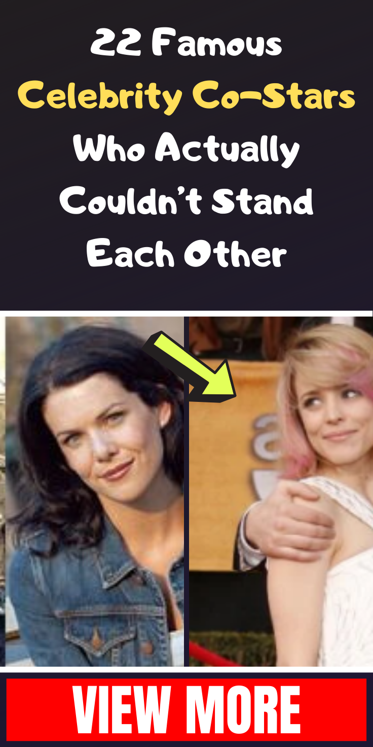 22 Famous Celebrity Co-Stars Who Actually Couldn't Stand Each Other