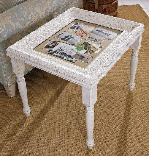 frame table in 2019 diy bilderrahmen tisch. Black Bedroom Furniture Sets. Home Design Ideas