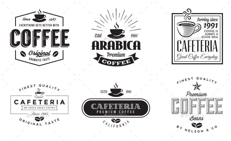 12 retro vintage coffee logo ad retro ad vintage