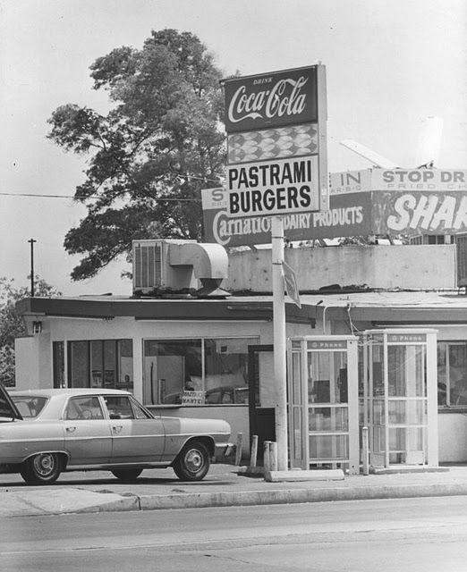vintage everyday: Fast food restaurants in Los Angeles, 1970s