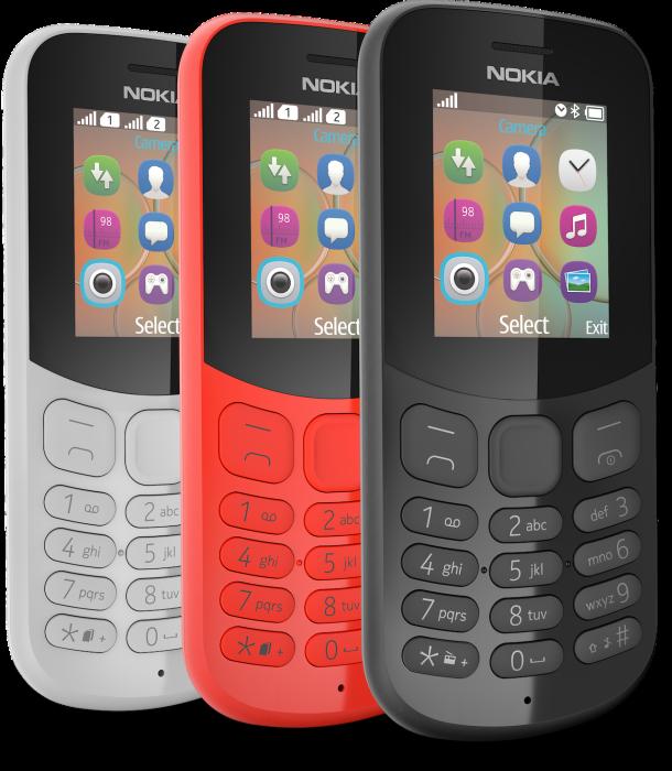 Nokia 105 (2017) e Nokia 130 (2017). Nokia, Feature