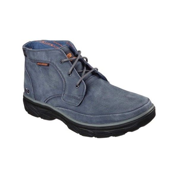 b9e761ef6d21dd Men s Skechers Relaxed Fit Resment Tavos Ankle Boot - Blue Ankle Boots  ( 73) ❤