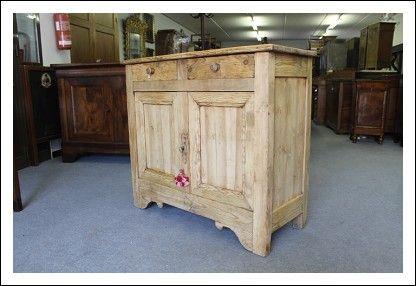 Piccola Credenza Da Restaurare : Piccola credenza in legno di pino restaurata naturale ! 1880