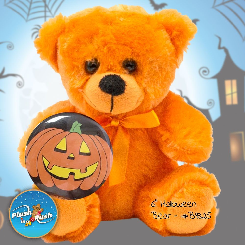 "6"" Halloween Bear in 2020 Wholesale teddy bears, Bear"