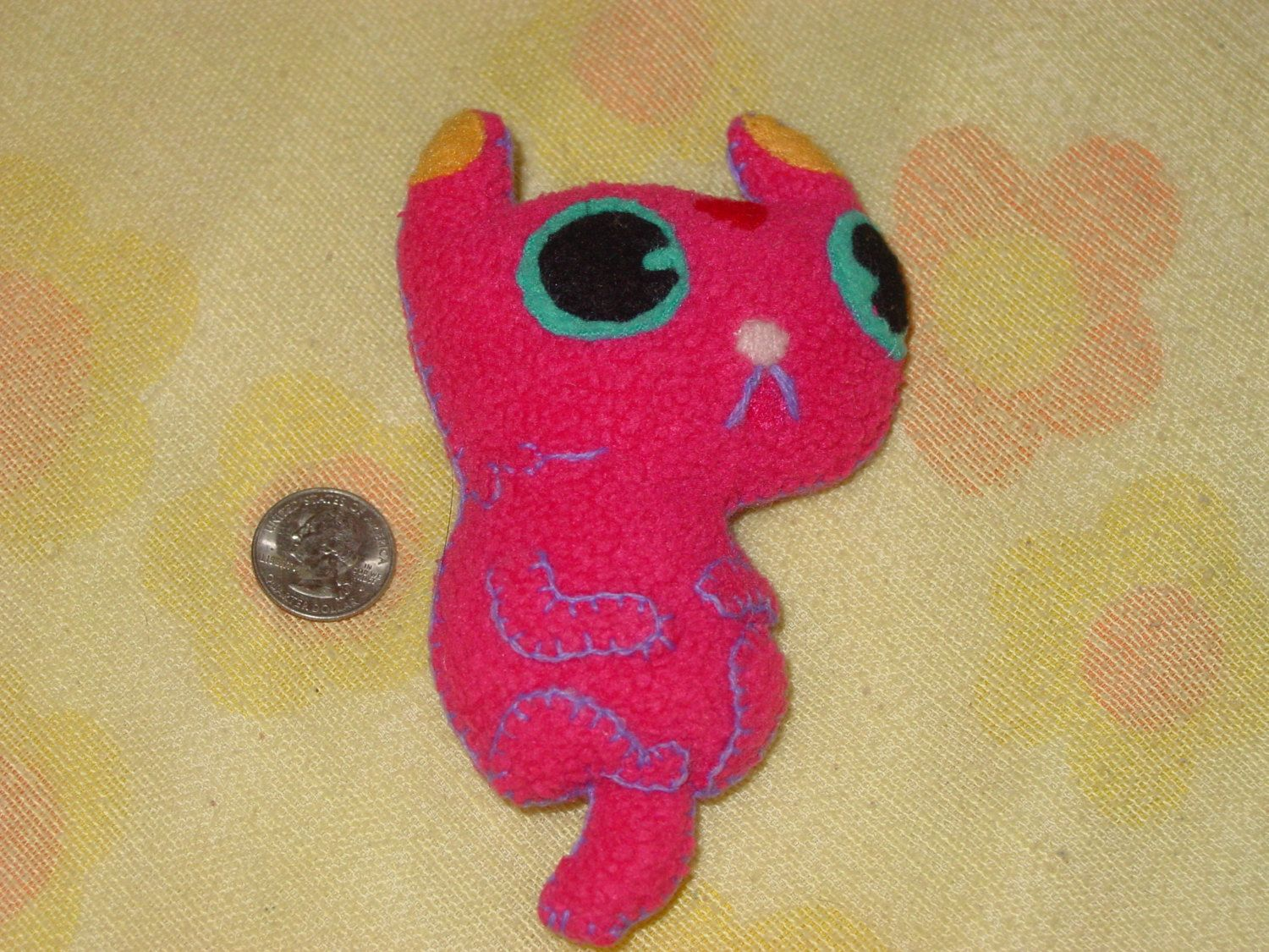 Itty Bitty Floating Kitten Adventure Time Fan Art Itty Bitty Fan Art Handmade