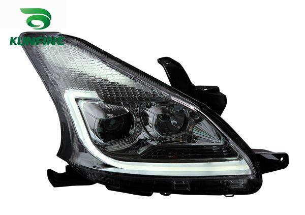 For Nissan Navara D40 100w Super White High//Low//Canbus LED Side Light Bulbs