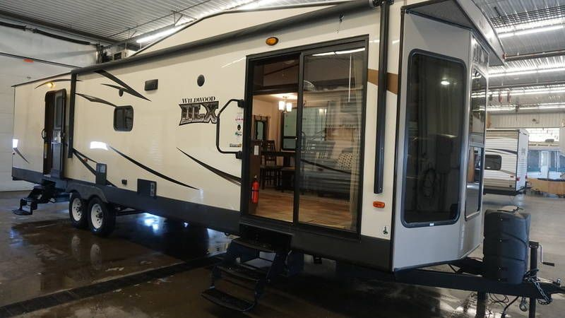 2017 Forest River Wildwood Dlx 353flfb For Sale Little Falls Mn