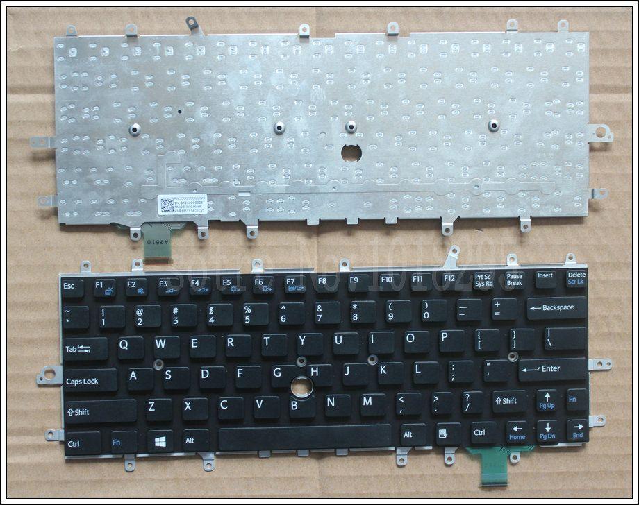 New Keyboard for Sony VIAO VPC-W VPC-W217 Laptop US English Version Silver AESY2U00010 148748123